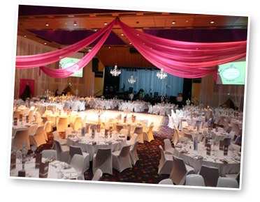 """The Make-A-Wish Ball just before 500 guests entered the """"Once Upon a Time...A Fairy Tale Ball""""  at Wrest Point in Hobart! (Robyn has MCed for 16 years!)"""